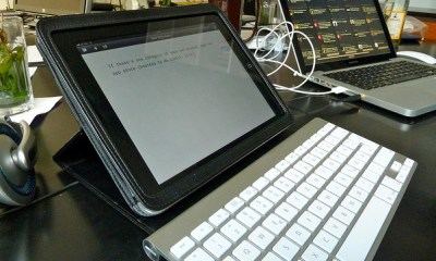 My favorite writing setup by jkleske on Flickr