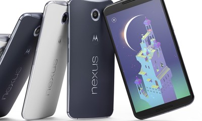 The Nexus 6 display features a 2,560 x 1,440 resolution.