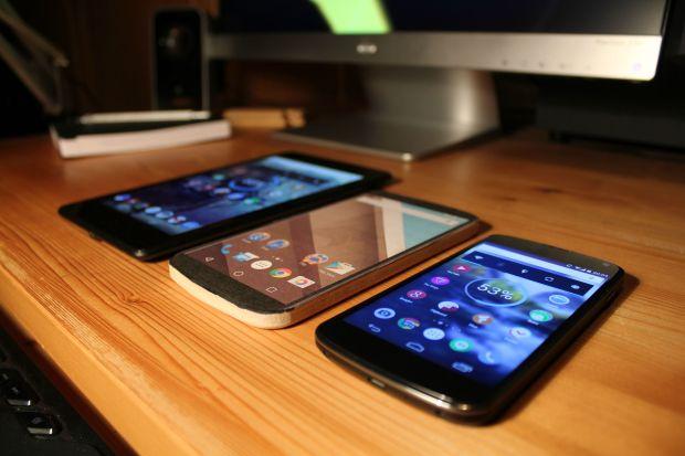 Nexus 7 vs. Nexus 6 vs. Nexus 4.