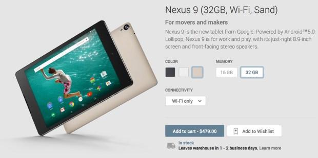 Nexus-9-sand