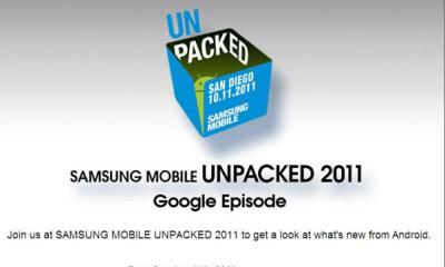 Nexus Prime announcement Samsung