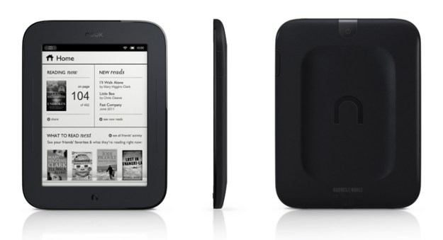 Nook 2 Touch Screen eink ebook reader
