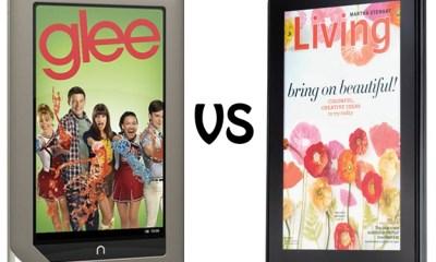 Nook Tablet vs Kindle Fire