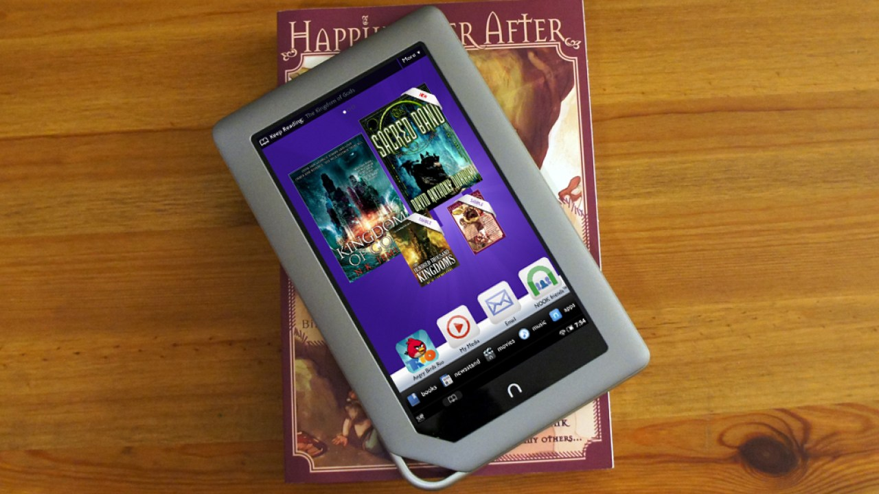Nook Tablet Review: Loading and Playing Your Own Video