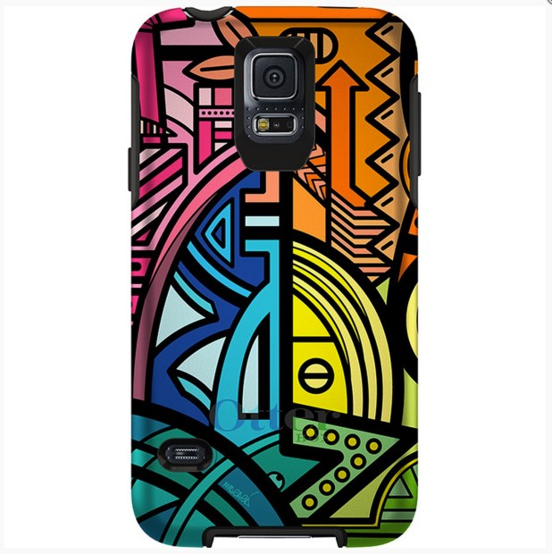 Slim, but protective Galaxy S5 case.