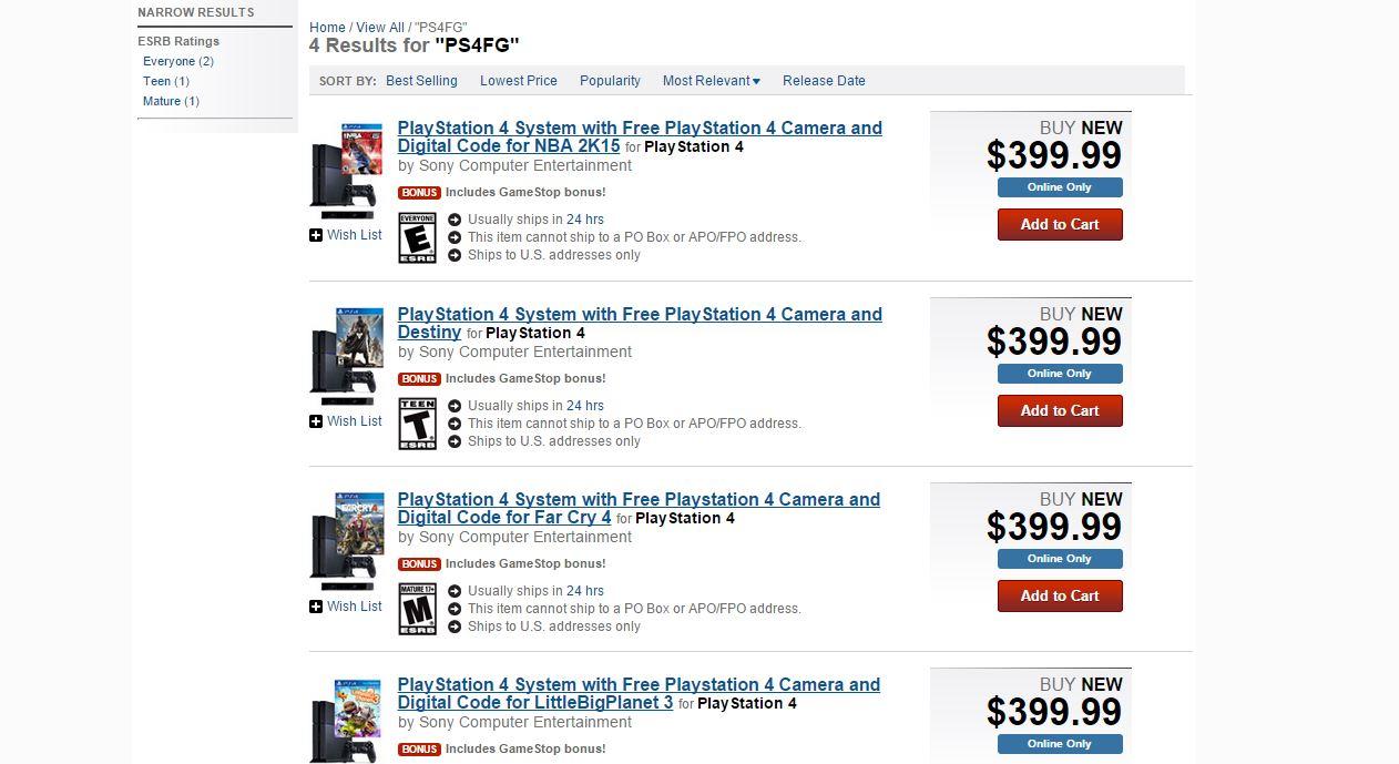 GameStop Sneaks in Amazing PS4 Deal Ahead of Christmas UPDATE