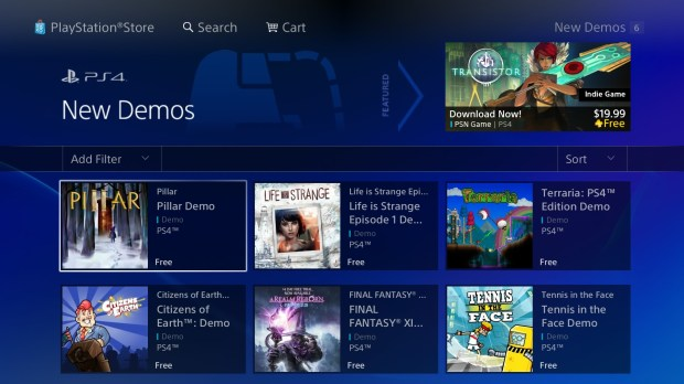 Play PS4 demos to try games before you buy.