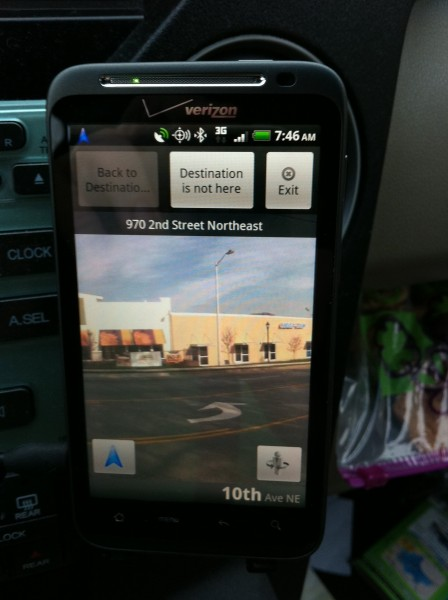Android's GPS Navigation App