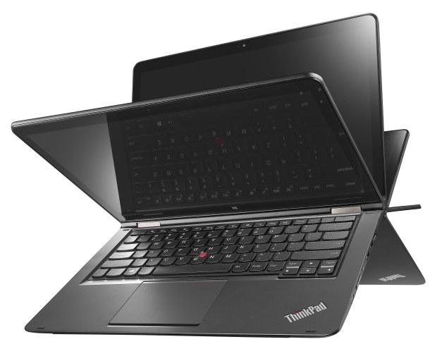 ThinkPad Yoga 14 Cobra (Haswell) Product Photography - Black