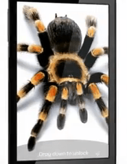 Samsung Infuse 4G Spider commercials AT&T