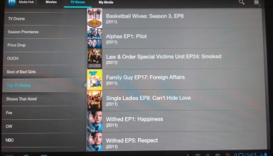 Samsung Media Hub Android Entertainment