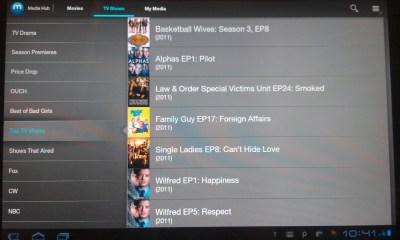 Samsung Media Hub Android Entertainment