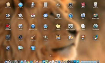 LaunchPad in OS X Lion