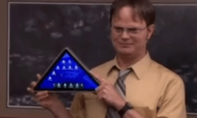 Sabre Pyramid Tablet