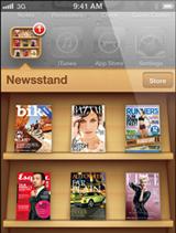 Newsstand app