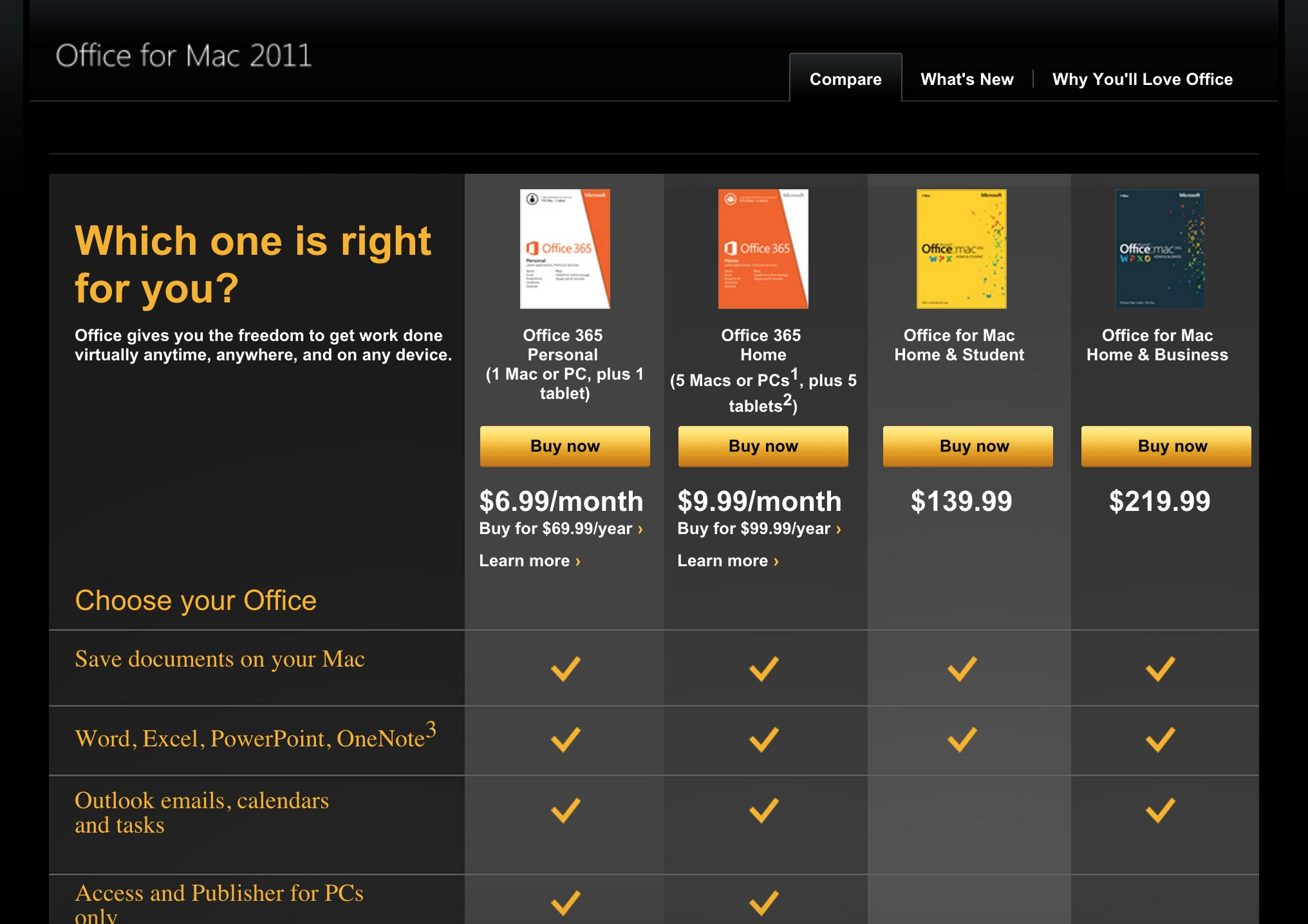 Iwork vs microsoft office 2011 which office suite is best for mac users - Best office software for mac ...