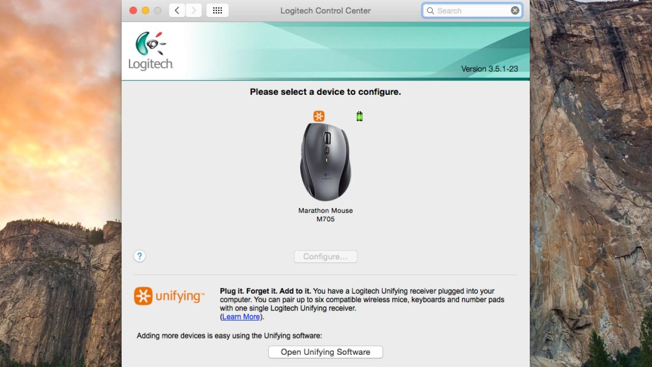 Reinstall Logitech Mouse Drivers