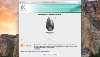Logitech on OS X Yosemite