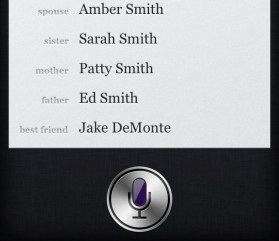 Siri Teach relationships