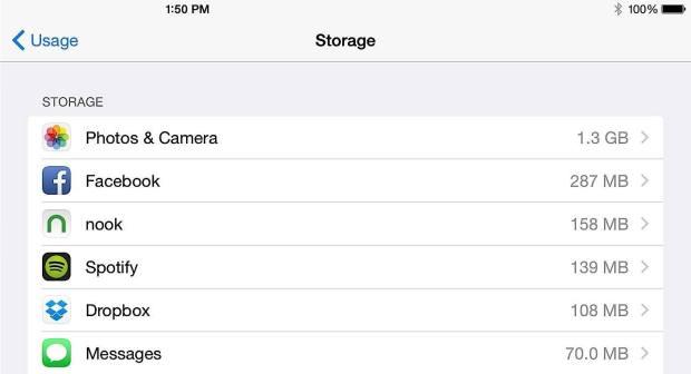 Free up storage.