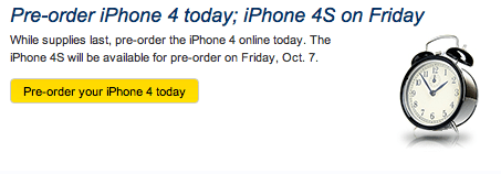 Sprint iPHone preorder