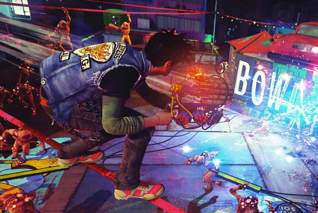 The Sunset Overdrive release is only on Xbox One right now.