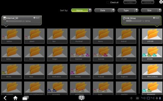 USB Copy - ThinkPad Tablet