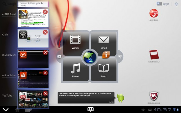 App Killer - ThinkPad Tablet