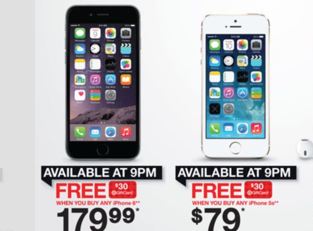 Save on an iPhone 6 at Target.