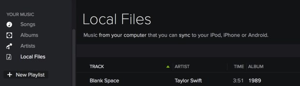 Add Taylor Swift to Spotify using this method.