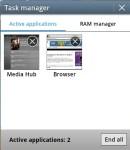 TouchWiz Task Manager
