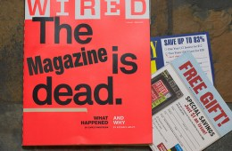 The Magazine is dead. Long live the blog.