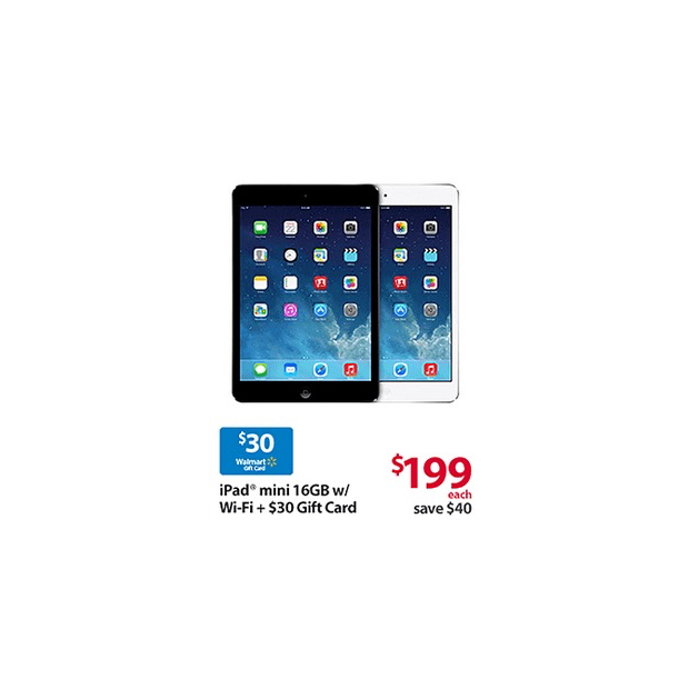 iPad Mini Black Friday Deal at Walmart