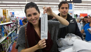If you want to be as happy as this shopper, here's what you need to know about Walmart Black Friday 2014 shopping.