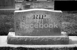 What happens to Facebook after death.