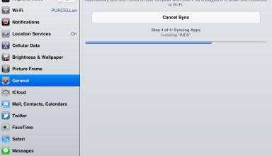 iTunes Wi-Fi sync settings