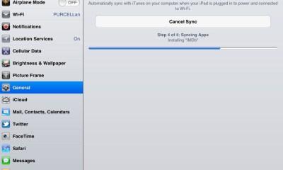 iTunes Wi-Fi sync settings