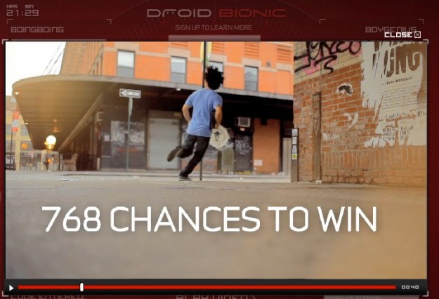 Win a Droid Bionic