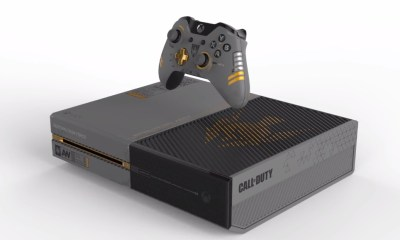 There is a sweet Xbox One Call of Duty: Advanced Warfare special edition console.