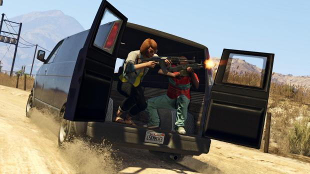 Xbox One and PS4 GTA 5 screenshots show upgraded graphics.