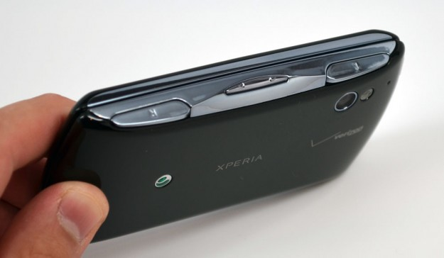Xperia Play shoulder buttons