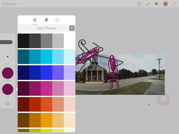 Drawing Lines With Adobe Illustrator : Adobe creative cloud ipad apps review