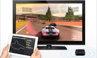 airplay Real Racing HD 2