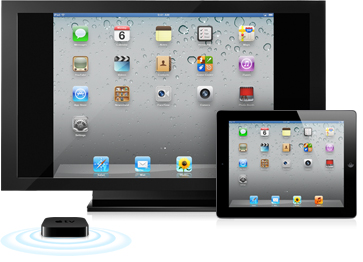 airplay - ipad mirroring without wires