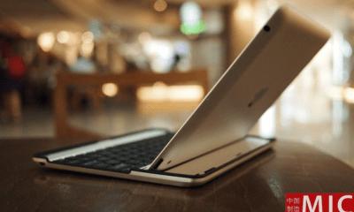 aluminium keyboard buddy case for ipad 2