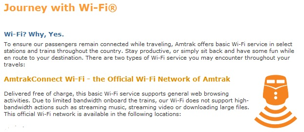 amtrakconnect wifi