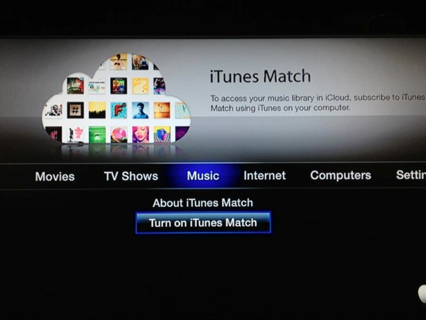 Apple TV Music Match
