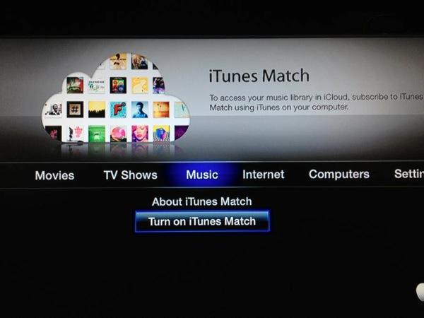Apple TV Music Match