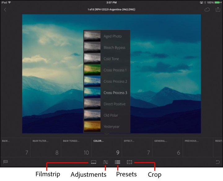lightroom for mobile filter presets