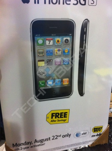 iPhone 3GS at Best Buy
